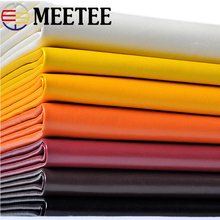Meetee 50*136cm Pu Leather Artificial Leather Faux Leather Fabric for Sewing Sofa Chairs Car Bags DIY Leather Material