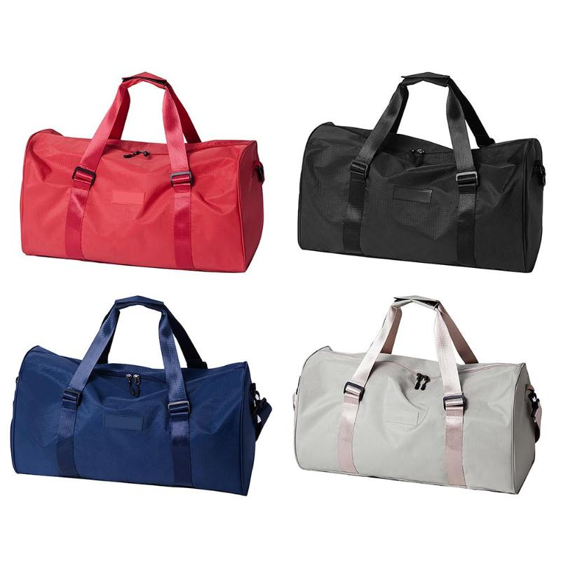 Portable Waterproof Sports Fitness Bag Training Gym Bags Large Capacity Travel Organizer LuggageFitness Bag Storage Bag