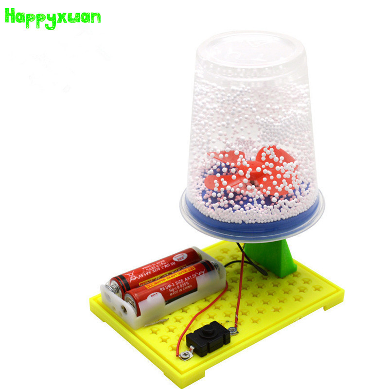 цена Happyxuan Electric Electrostatic Snow DIY Technology Preschool Kids Invented Scientific Experimental Toys Creative