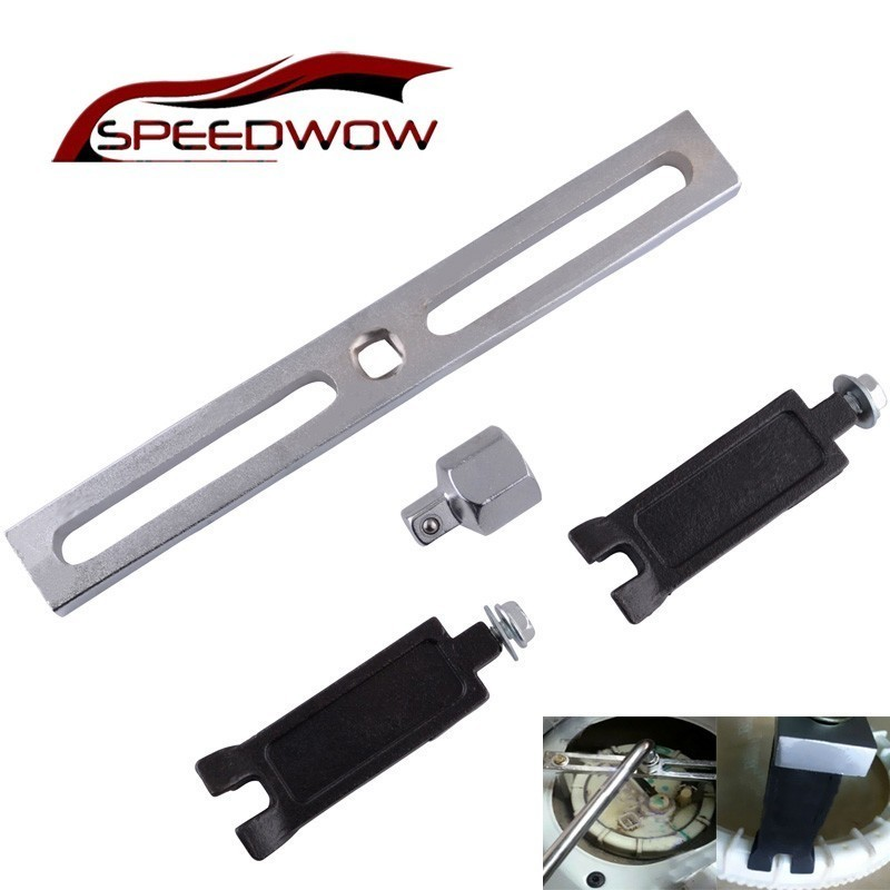 SPEEDWOW Adjustable Lid Tank Cover Remove Spanner Wrench Car Professional Fuel Pump Remove Spanner Tool For Benz BMW VW AUDI
