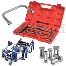 10 stks/set Zandstraal Lente Compressor Kit Automotor Removal Installer Valve Tool (Grijs)(China)