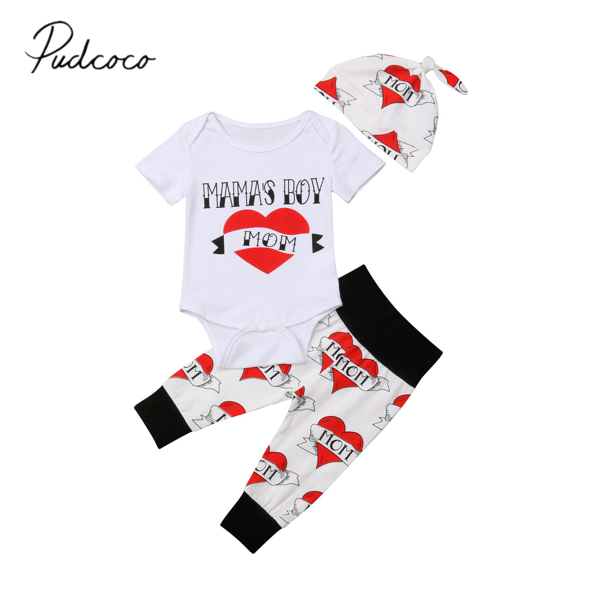 Bow Tutu Skirt Headband Outfits Sets 0-18 M 3pcs Newborn Infant Girls Clothes Letter Print Short Sleeve Romper