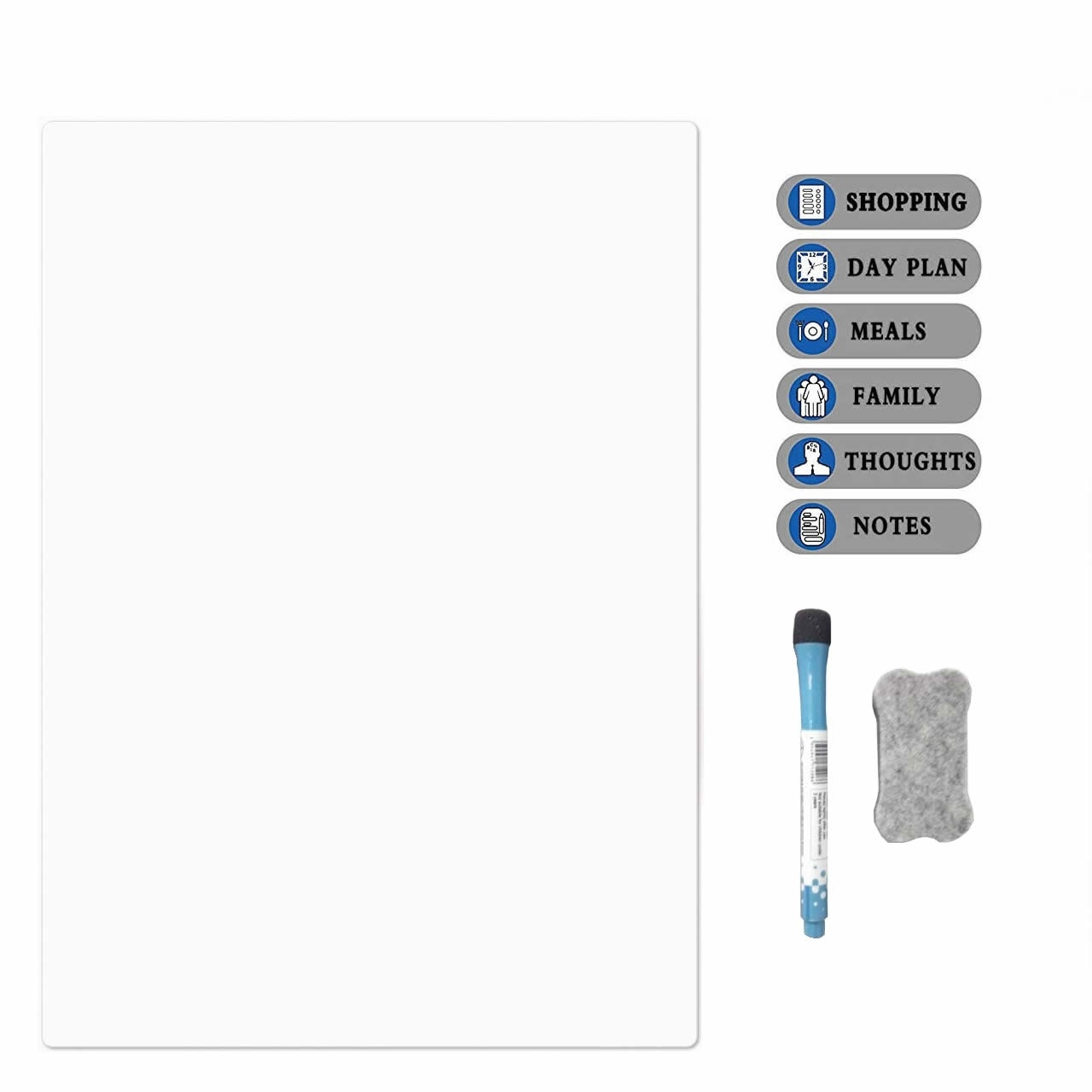 Dry Erase Whiteboard Refrigerator Calendar A4 Calendar White Board For Fridge Monthly Planner  Perfect Planner To Stay Organized