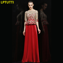 LPTUTTI Embroidery Appliques For Women Evening Dresses