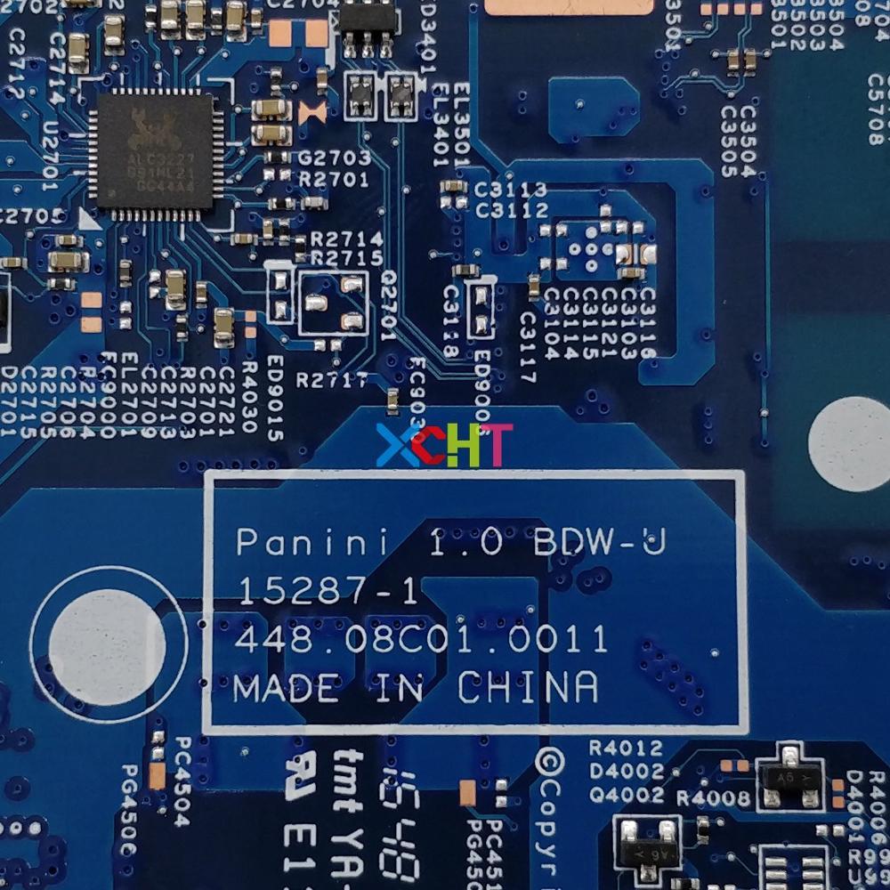 856692 601 856692 001 15287 1 448.08C01.0011 W I3 5005U CPU For HP Notebook 17 X Series 17T X000 PC Motherboard Mainboard