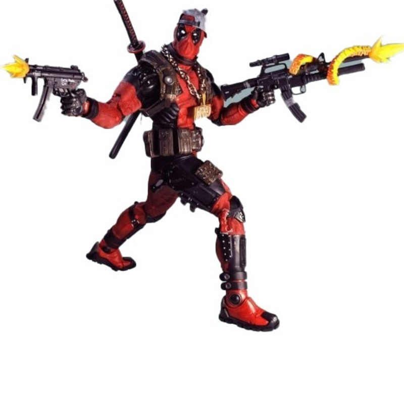 Deadpool Marvel Legends 2019 Final Pvc 1/4 45cm Modelo Filme Avengers endgame Figuras de Ação Collectible Boneca de Presente Brinquedos Figma