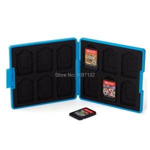 Image 5 - Nintend Schakelaar Accessoires Draagbare Game Kaarten Case Shockproof Hard Shell Opbergdoos Voor Nintendo Switch Ns Games