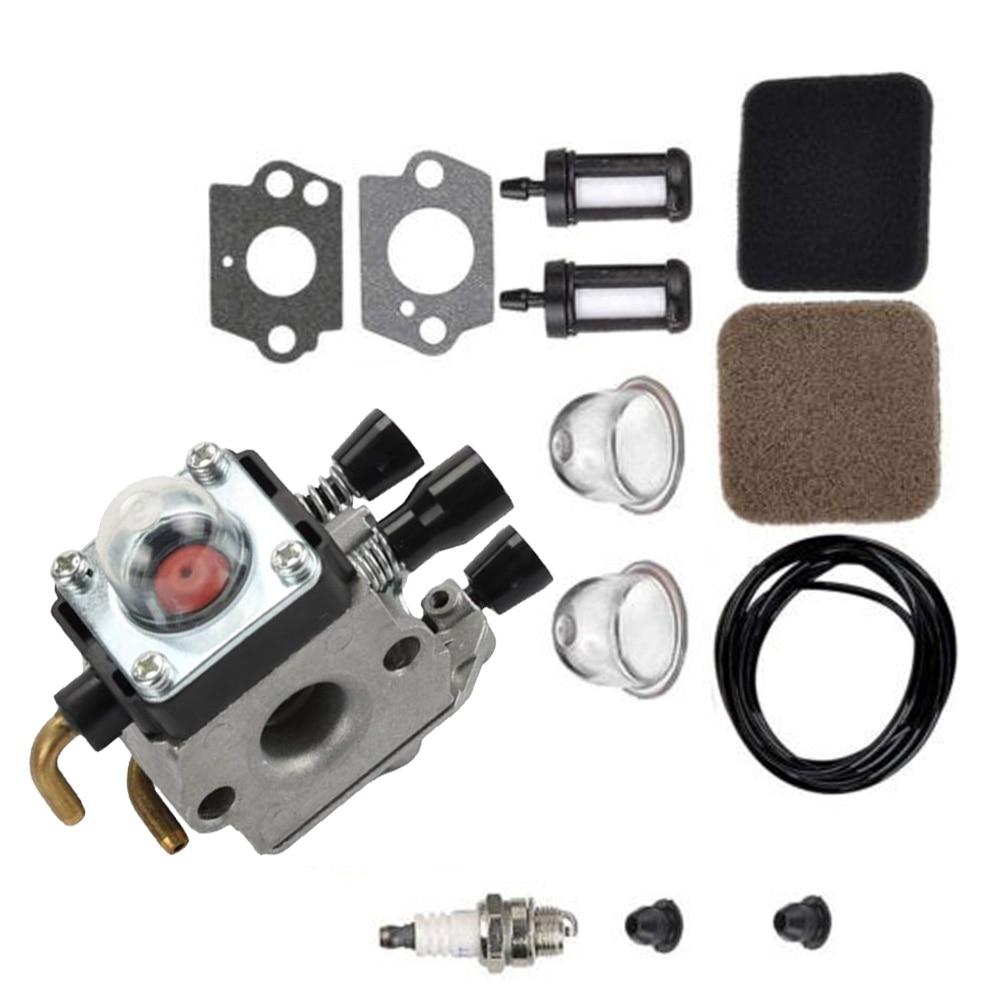 Best Buy Carburetor Air Fuel Filter Spark Plug For Stihl FS75 FS80 FS80R  FS85 FS85R FS85T Chainsaw
