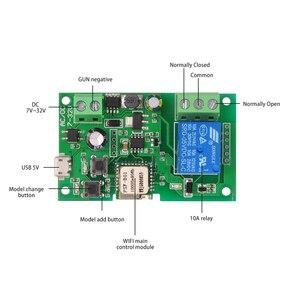 Image 3 - 2 pièces 5 pièces Wifi commutateur eWeLink DC5V 12 V 24 V 32 V Modules domotique intelligente téléphone APP télécommande minuterie interrupteur commande vocale
