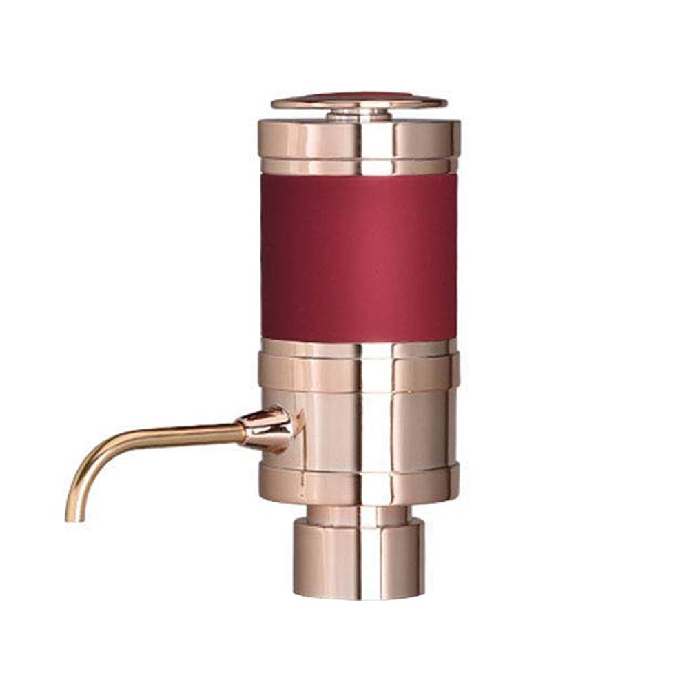 Electric Wine Aerator และ Dispenser   ได้อย่างรวดเร็วออกซิไดซ์, แบบพกพา, อัตโนมัติขวด Breather ปั๊มโลหะ Pourer Spout   Air D-ใน ขวดเหล้า จาก บ้านและสวน บน AliExpress - 11.11_สิบเอ็ด สิบเอ็ดวันคนโสด 1