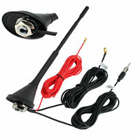 Universal Roof Mount Active Amplified DAB FM Radio Car Aerial Antenna Mast NEW