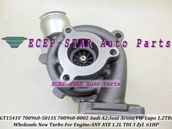 Turbo 700960 700960-5011 S 045145701E 045145701EX 045145701A dla AUDI A2 dla Seat Arosa VW Volkswagen Lupo 1.2 TDI 99-05 żadnych AYZ