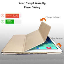Tablet Case for Apple iPad Pro 9.7 2016 A1673 A1674 A1675 WI-FI LTE Magnetic PU Leather Smart Cover Auto Wake &Sleep Stand