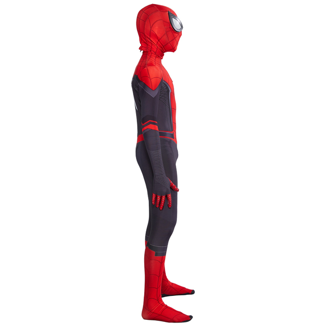 Spider Boy Far From Home Peter Parker Cosplay Costume for kids 3