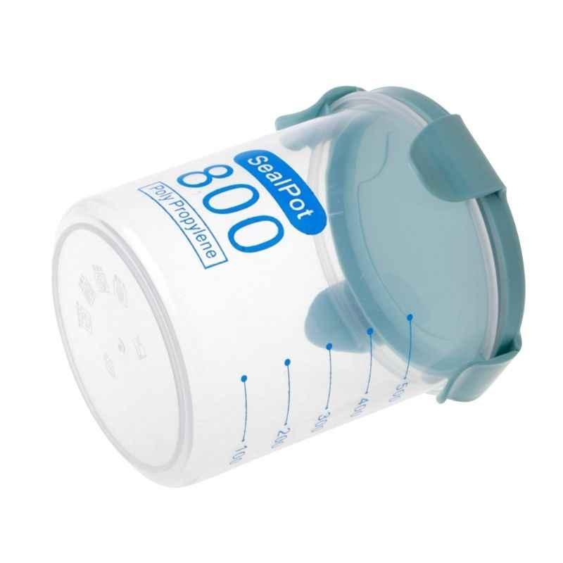Caixa de armazenamento de cozinha garrafas de armazenamento frigorífico recipiente de vedação de alimentos preservação de plástico fresco pote recipiente
