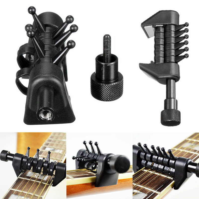 electric guitar tuning capo multifunction portable alternative open black tuning chords acoustic. Black Bedroom Furniture Sets. Home Design Ideas