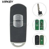 Remotekey 5WK 43401D VDO Old model 2 button 434Mhz Smart key for Mazda CX 5 2010 2011 2012 2013