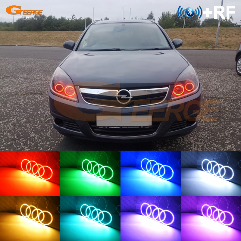 For Opel Vectra C 2005 2006 2007 2008 RF Bluetooth Controller Multi Color Ultra bright RGB
