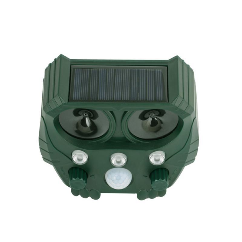 Image 3 - Animal Repeller Solar light bird repeller frighten animals Induction Ultrasonic Strobe Light Burglar Alarm-in Repellents from Home & Garden