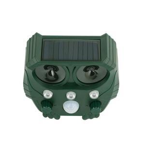 Image 3 - Animal Repeller Solar light bird repeller frighten animals Induction Ultrasonic Strobe Light Burglar Alarm