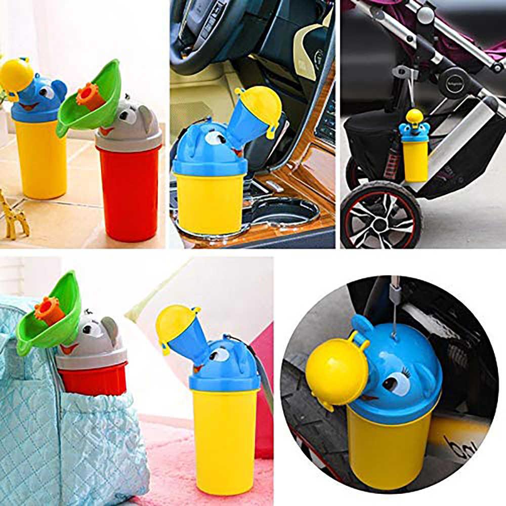 Портативный удобный дорожный милый Писсуар для малышей, Детский горшок для девочек и мальчиков, автомобильный туалет, автомобильный писсуар, дорожный писсуар, Детский горшок