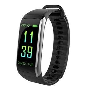 Image 2 - KR02 IP68 étanche Bracelet de remise en forme GPS bande intelligente moniteur de fréquence cardiaque montre Tracker dactivité 3 pour Xiao Mi Android IOS téléphone