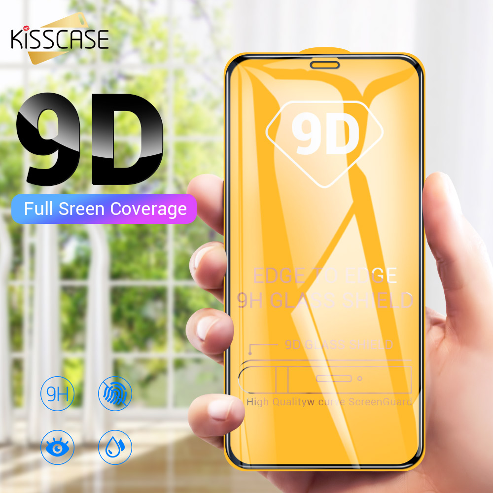 KISSCASE 9D Full Cover Tempered <font><b>Glass</b></font> For <font><b>Huawei</b></font> <font><b>P30</b></font> Lite P20 Mate 20 <font><b>Pro</b></font> Screen <font><b>Protector</b></font> For <font><b>Huawei</b></font> P Smart 2019 Film <font><b>Glass</b></font> image