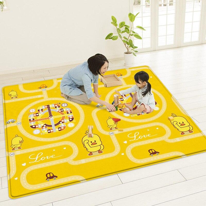 180x200 cm tapis De jeu bébé ramper Puzzle mousse tapis De route pliable tapis De jeu pour enfants Tapete De Atividades Bebe Gimnasio Bebe