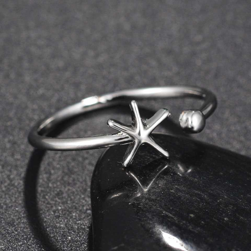 ホット販売女性特別な矢印の形リング調節可能なステンレス鋼リング記念リング愛好家のため