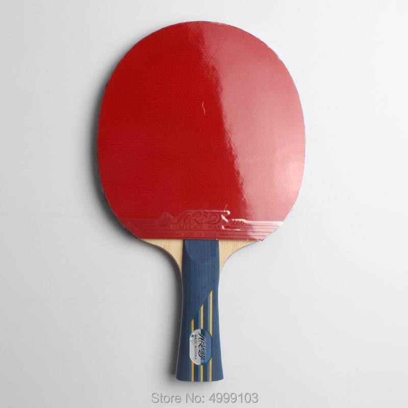 Original yinhe 08b finished table tennis racket carbon racket good in elastic and powerful with case ping pong racket