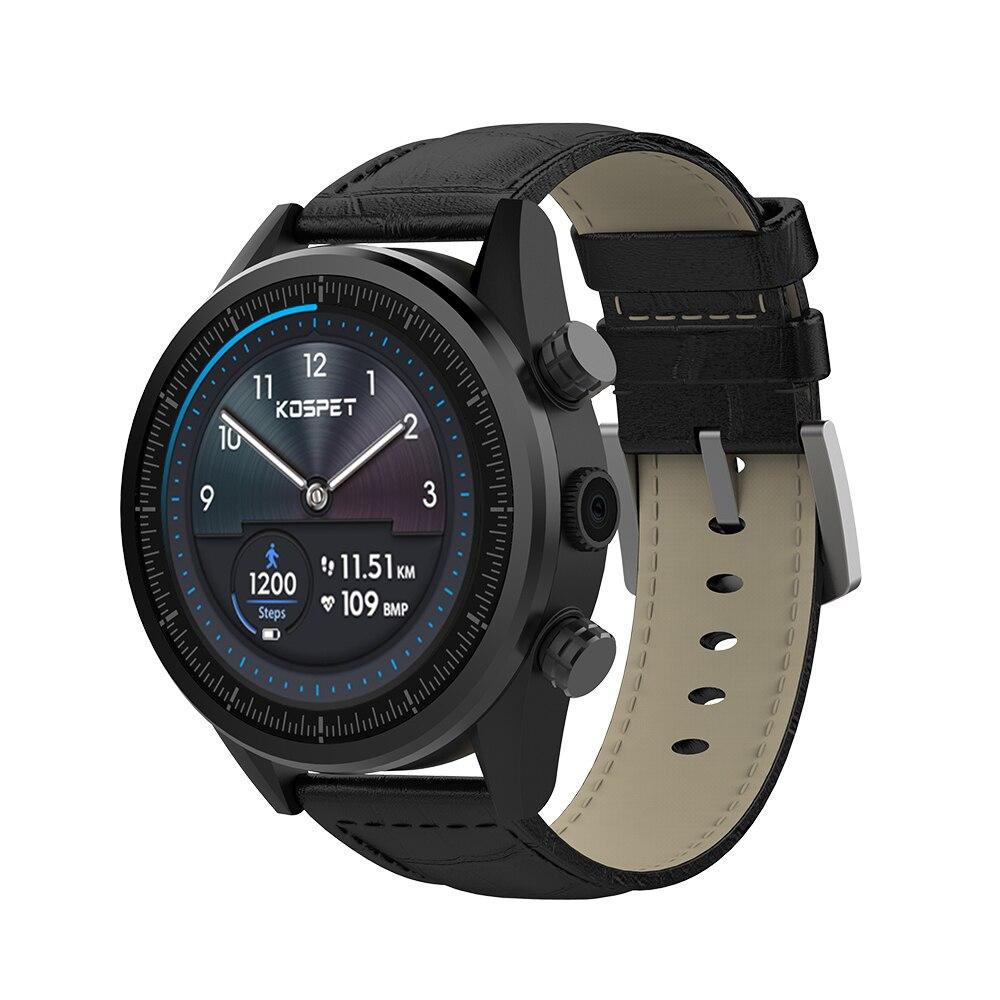 Kospet 願っ 3 グラム + 32 グラム 4G LTE スマートウォッチ電話 1.39 'IP67 無線 LAN 、 GPS/GLONASS 8.0MP Android7.1.1 スマート時計男性女性 ios Androoid  グループ上の 家電製品 からの スマートウォッチ の中 1