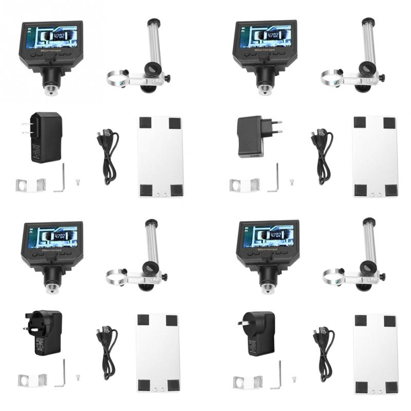 Portable 4 3 G600 1 600X Magnifier 1080P LCD Digital Microscope 100 250V