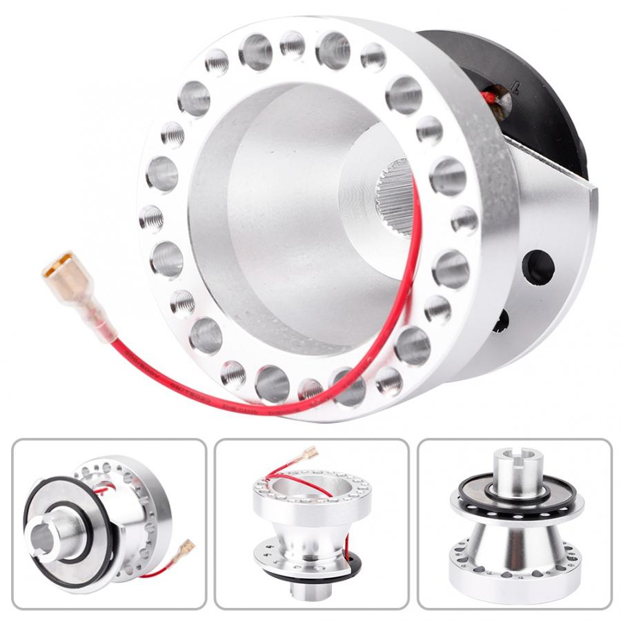 enrilior Quick Release Adapter S2000 Civic Quick Release Civic Ek Car Steering Wheel Hub Kit is Compatible with H-O-N-D-A Rsx//Tl//Ek//Cr-V//Civic