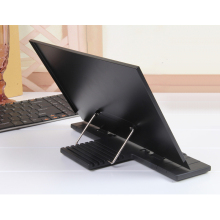 Metal Book Reading Stand Support Bookends Lectern Tablet PC Bracket