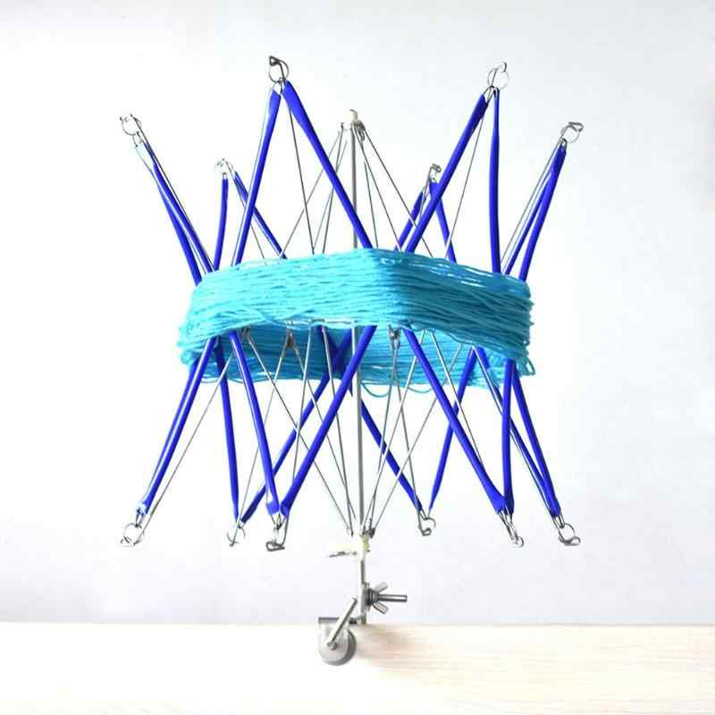 Вязальный Зонт Лоскутная нить прядильная машина Свифт шерсть пряжа струнный держатель работает намотка Швейные Инструменты Домашние DIY аксессуары