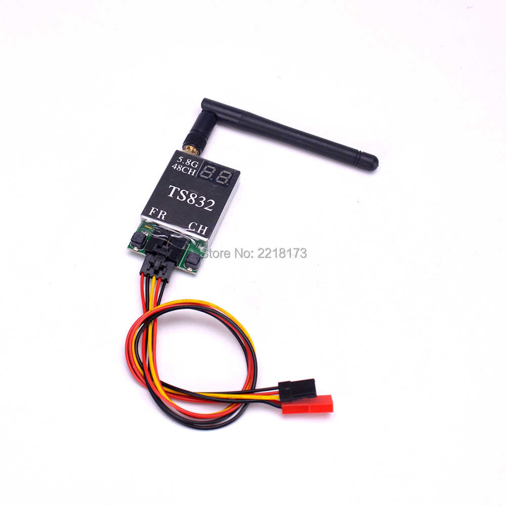 FPV Kit de sistema Combo 5,8 Ghz 600mw 48CH TS832 RC832 RC 832 7 pulgadas LCD Monitor 1024x600 0 Fatshark antena para Quadcopter FPV