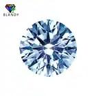 Envío Gratis 5A forma redonda Star Cut blanco Cubic Zirconia CZ piedra - 1