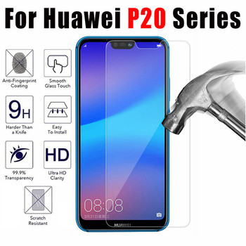 P20 Pro Tempered Glass For Huawei P20 Lite Screen Protector Transparent Full Cover For Huawei P30 lite Pro P20 Protective Film image