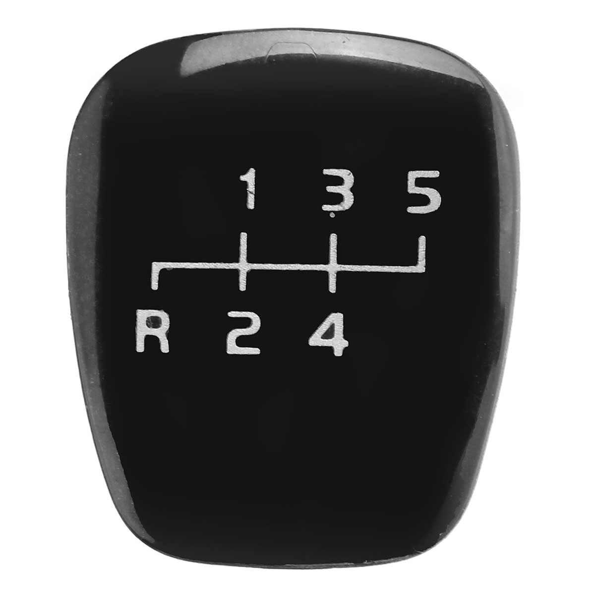Cubierta plástica de la perilla del cambio del engranaje de 5 velocidades para MERCEDES W202 C W208 CLK W210 E accesorios del coche