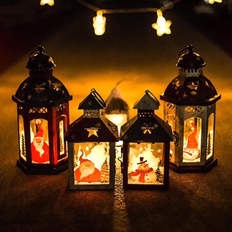 Vintage Christmas Hanging Tea light Candlestick Candle