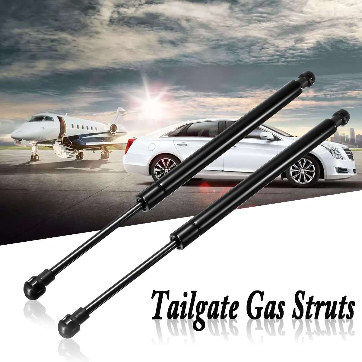 Gas Rams For BMW E90 3 Series Pair Of Used Boot Lid Struts Lifters