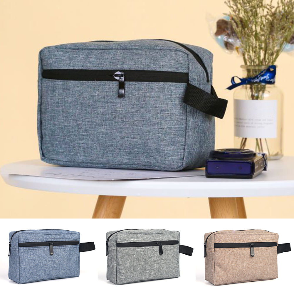 Zipper Man Women Makeup Bag Nylon Cosmetic Bag Beauty Case Make Up Organizer Toiletry Bag Kits Storage Travel Wash Pouch 1228