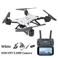 Long Battery Life Folding Aerial Photo Drone Altitude Hold Four axis Aircraft WIFI Image Transmission Remote Control Aircraft