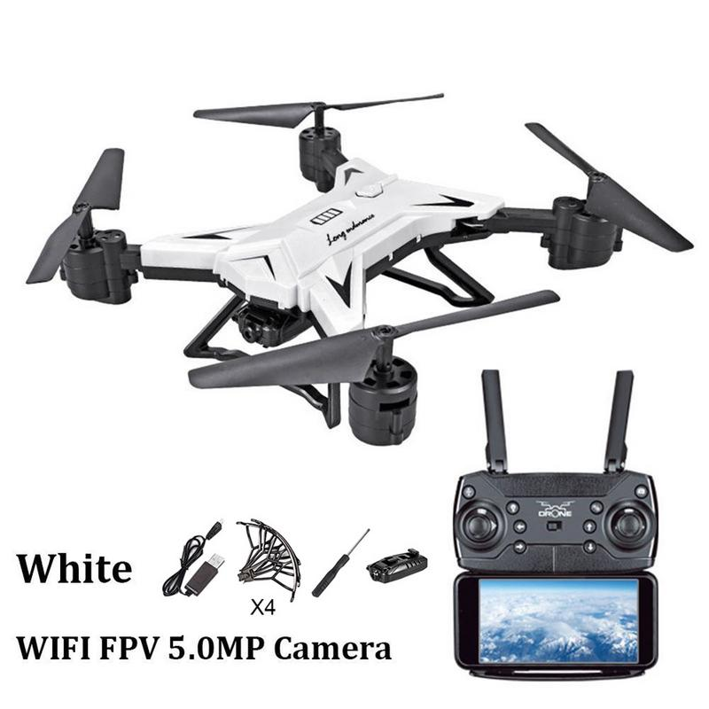 Long Battery Life Folding Aerial Photo Drone Altitude Hold Four-axis Aircraft WIFI Image Transmission Remote Control Aircraft