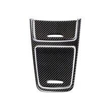 لمرسيدس بنز A GLA CLA الفئة W176 X156 C117 سيارة مركز لوحة التحكم ولاعة السجائر/صندوق تخزين غطاء من ألياف الكربون