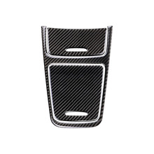 Mercedes Benz için bir GLA CLA sınıfı W176 X156 C117 araba merkezi kontrol paneli çakmak/saklama kutusu karbon Fiber kapak
