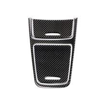 Para mercedes benz a gla cla classe w176 x156 c117 centro painel de controle do carro isqueiro/caixa armazenamento fibra carbono capa