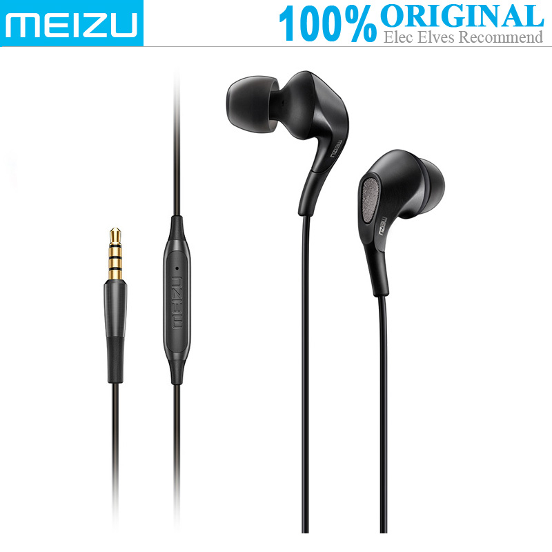 MEIZU Flux Trois Unités Hybrides In-Ear Écouteurs (HiFi, Basse Système de Ventilation, Antibruit, Répondeur Téléphonique, chanson de Commutation)
