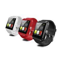 Novo smartwatch bluetooth relógio inteligente u8 para iphone ios android telefone inteligente usar relógio wearable dispositivo smartwach pk gt08 dz09