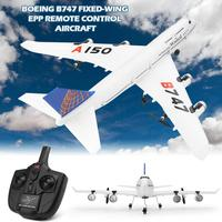 For Weili XKA150 3CH Remote Control Airplane Aircraft B747 Mode Fixed Wing EPP RC Fixed Wing Airplane Aircraft Drone for Kid